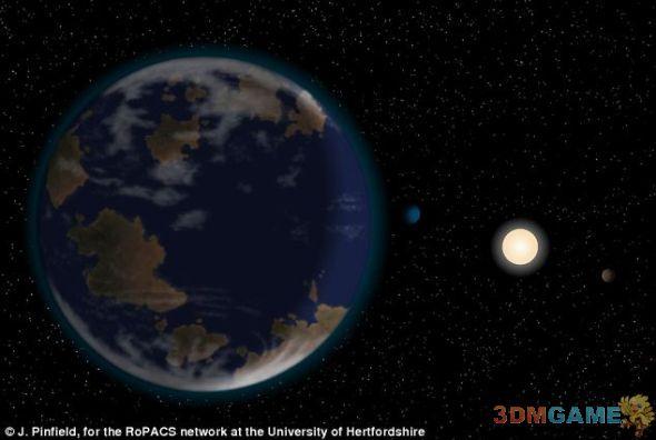 科学家发现42光年外行星:或具宜居环境