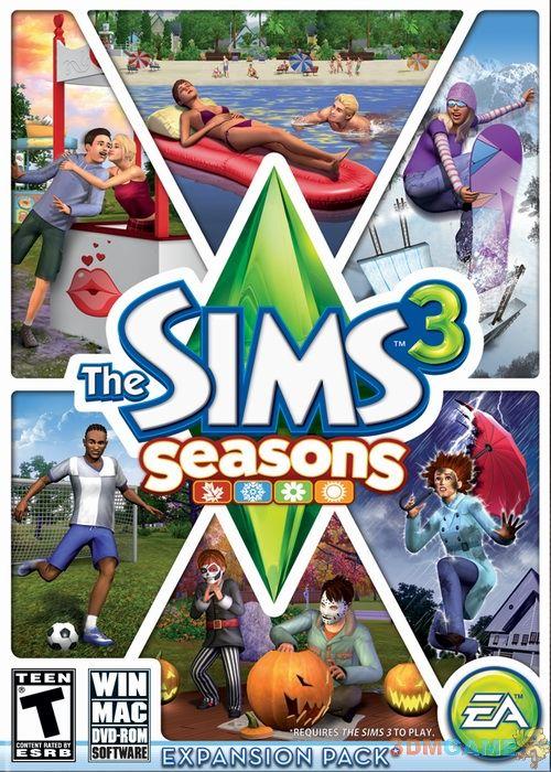 <b>3DM全球首发!《模拟人生3:季节》下载放出</b>