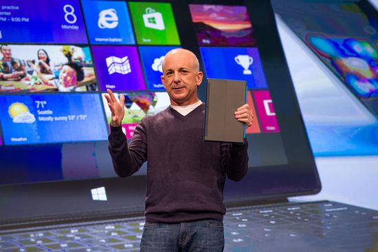 微软Windows部门负责人离职 Win8该何去何从?