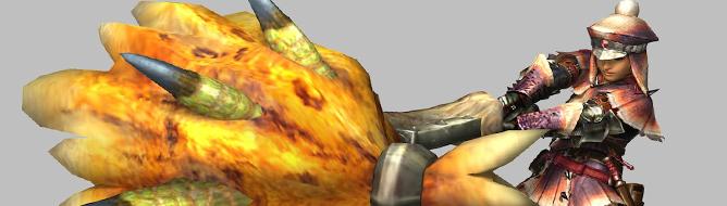 《怪物猎人3:终极》巨锤细节 对着怪物直接打脸