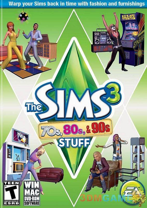 3DM首发《模拟人生3:70、80和90年代》PC版下载