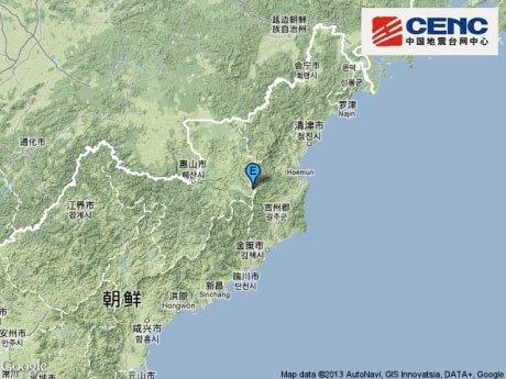 """朝鲜进行第3次核试验引发5.1级""""地震""""引多方关注"""