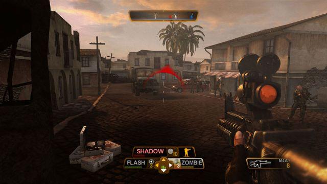 《乌鸦小队:暗器行动》FPS与RTS的结合
