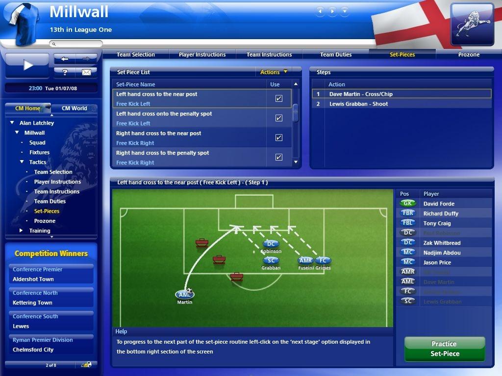 《冠军足球经理2010》试玩版下载放出