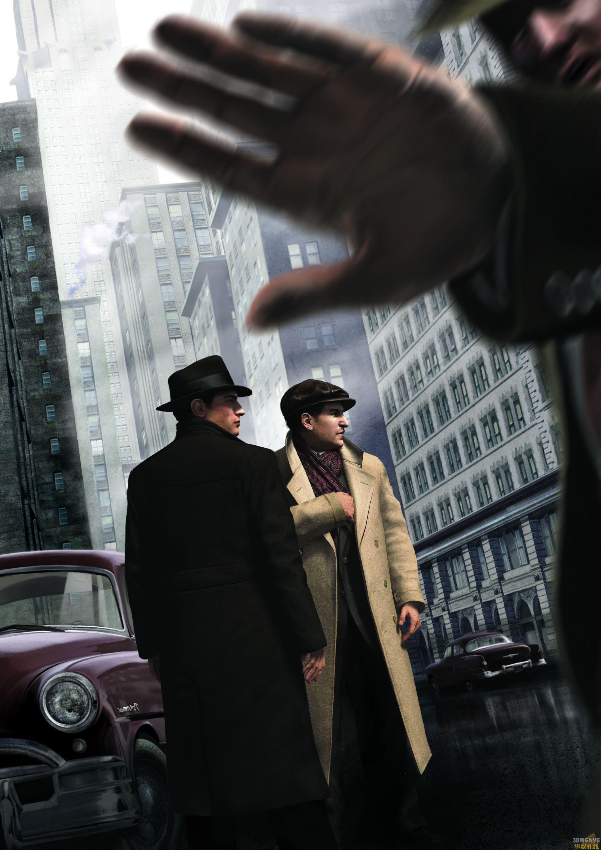 游戏资讯_E3 2010:《黑手党2》大量截图及艺术图公布_3DM单机