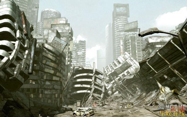 《狂怒》开发商放出史上最大游戏截图