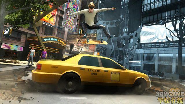《肖恩怀特滑板》游戏细节及最新游戏截图放出