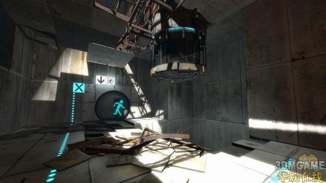 《传送门2》18张最新游戏截图及概念图欣赏