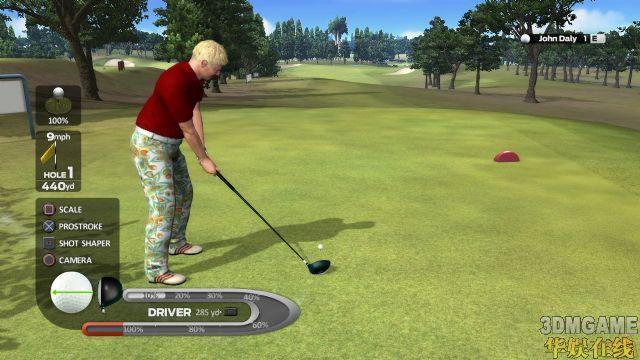 <b>《约翰·达利的职业高尔夫》上市日期确定</b>