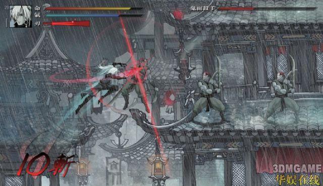 中国独立游戏《雨血前传:蜃楼》概念图放出!