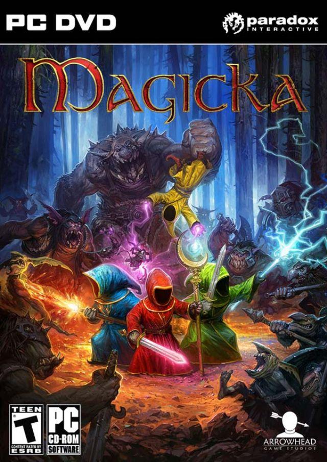 奇幻魔法游戏《魔能(Magicka)》3DM高速下载