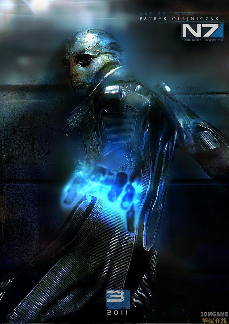 《质量效应3》等精美图画欣赏 人物栩栩如生
