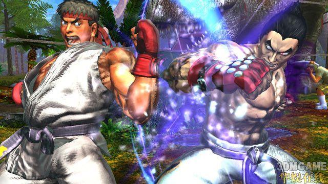 《街霸X铁拳》新图放出 PC的怨念