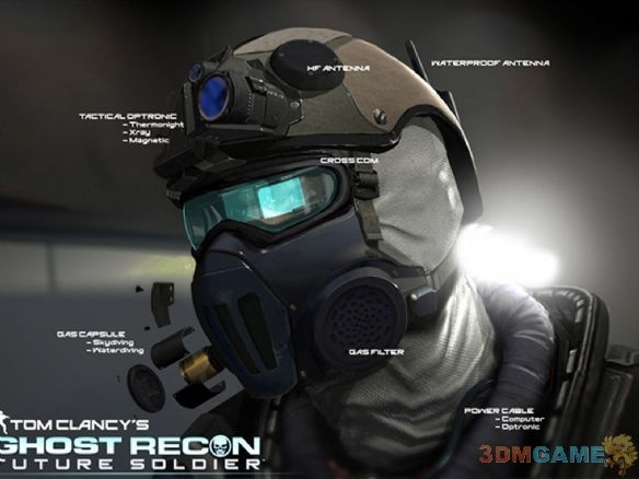 《幽灵行动:未来战士(Ghost Recon Future Soldier)》