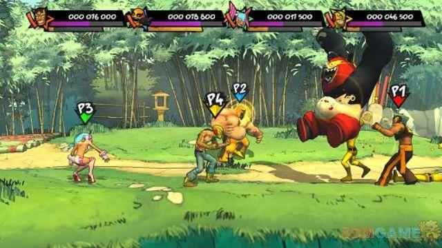 游戏资讯_《Lucha Fury》2D横版过关游戏 画面清新亮丽_3DM单机