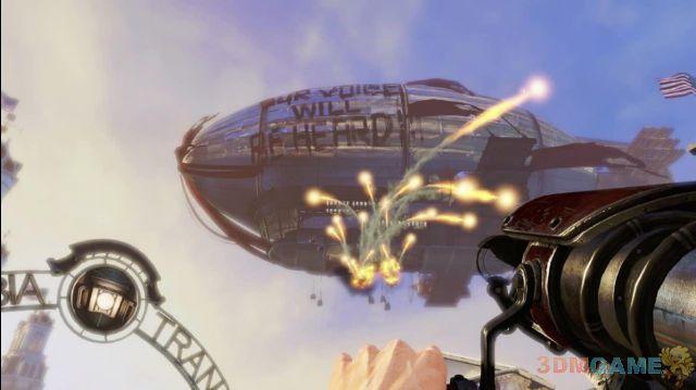《生化奇兵:无限》新图欣赏 拿起武器战个痛快
