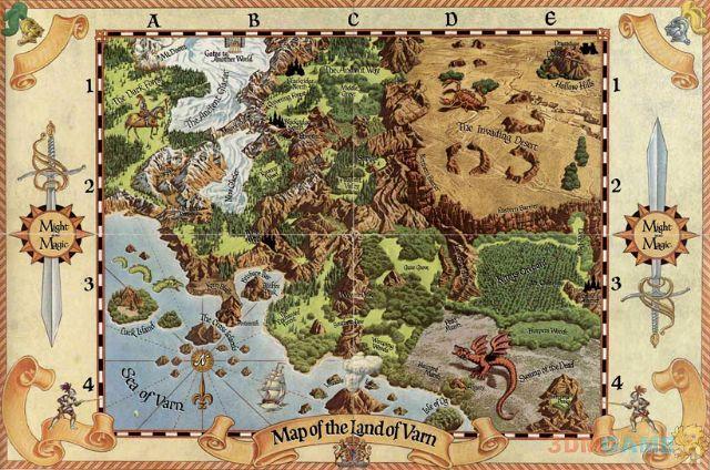《魔法门》世界全貌概览 错综复杂堪称史诗