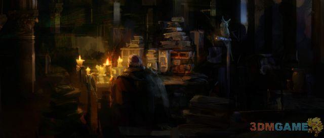 《暗黑破坏神3》精美原画 带你深入了解暗黑世界