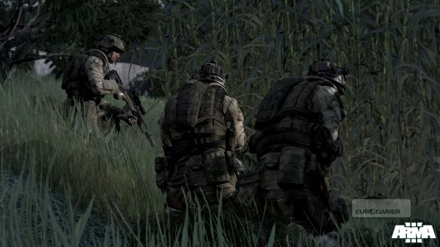 《武装突袭3》新截图欣赏 游戏场景恢弘逼真