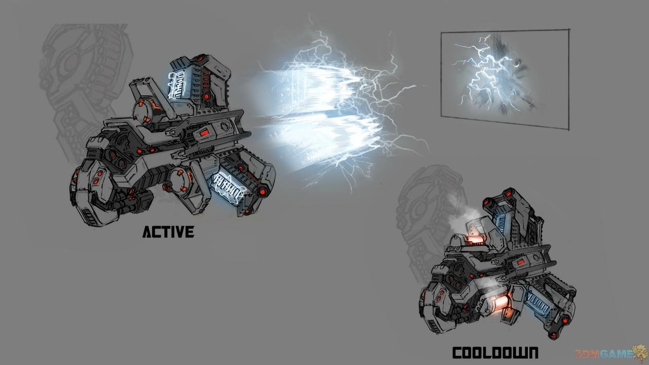 《变形金刚:塞伯坦的陨落》截图 武器设计图曝光图片