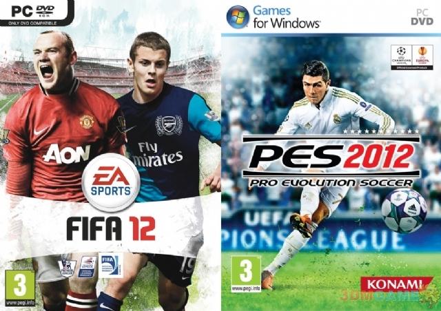 双雄会——FIFA12与实况足球2019对比评测