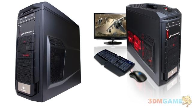 搭载AMD八核推土机的专用游戏PC展示