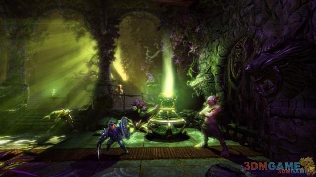 横板动作游戏精品《魔幻三杰2》破解版下载放出