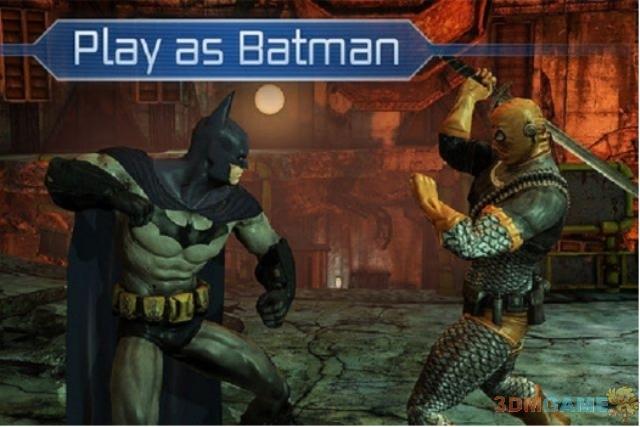 蝙蝠侠新作登陆iOS 截图放出