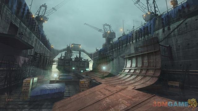 <b>非常惊艳 《神秘海域3》被删除的场景概念图</b>