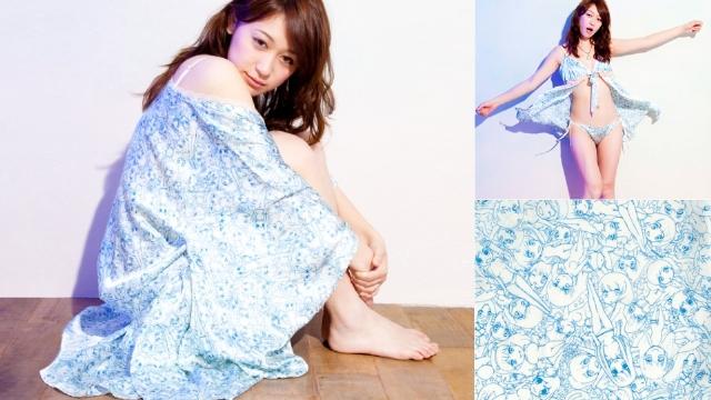 性感诱惑价格昂贵 日本推出动漫游戏丝绸内衣