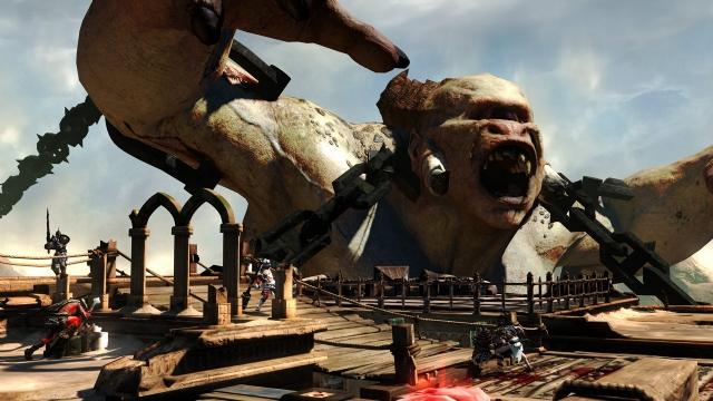 《战神:升天》怪物百科:泰坦巨人波吕斐摩斯