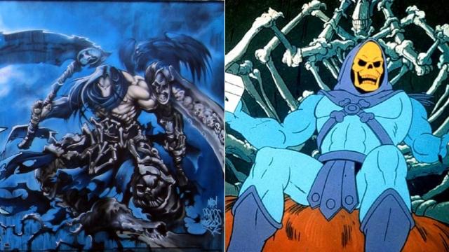 不可思议的吻合!《暗黑血统2》死神原型为骷髅王