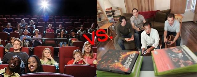 <b>游戏比电影精彩的七条理由 看电影还不如去玩游戏</b>