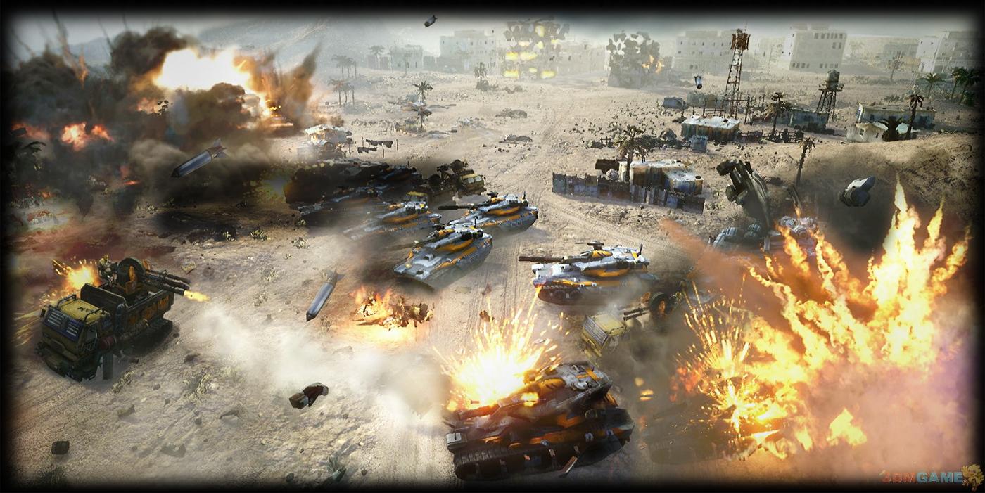 《命令与征服:将军2》无单人战役?注重多人和合作