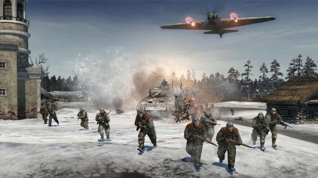 《英雄连2》新细节公布 协同作战雪原杀敌