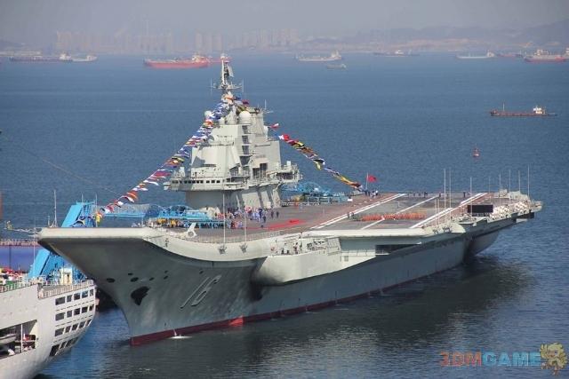 """<b>专家:""""辽宁舰""""航母除外壳外均由中国设计建造</b>"""