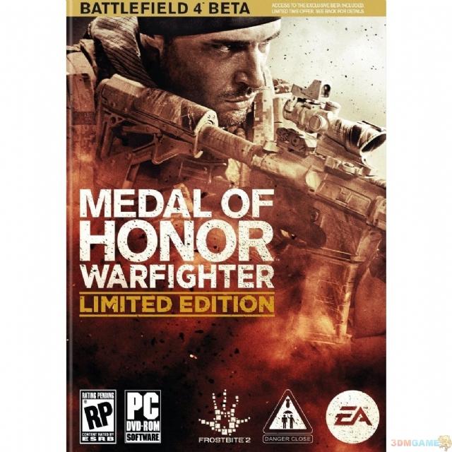 3DM自购《荣誉勋章:战士》PC限定版发布 自带繁体中文