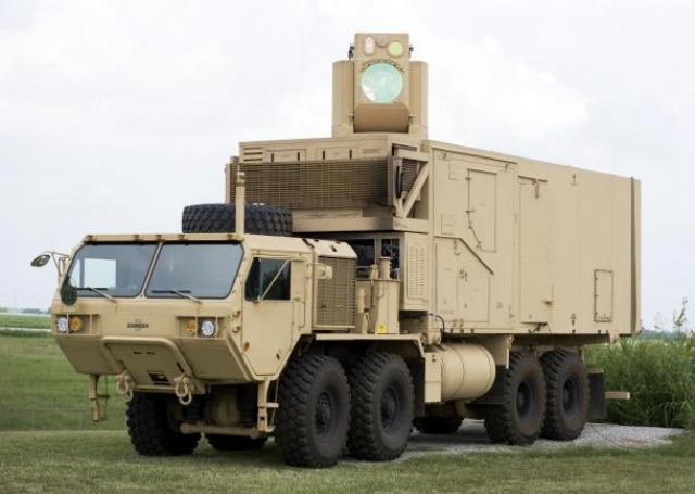 《红色警戒》光棱坦克成现实 美军研制激光战车