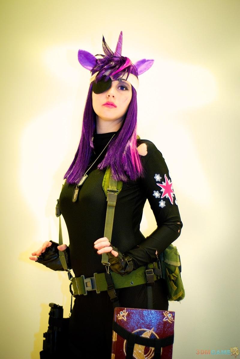 性感美女化身小马驹让你很想骑彩虹小马cosplay美女喜爱关图片