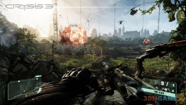 《孤岛危机3》首发即支持全部高清图像选项