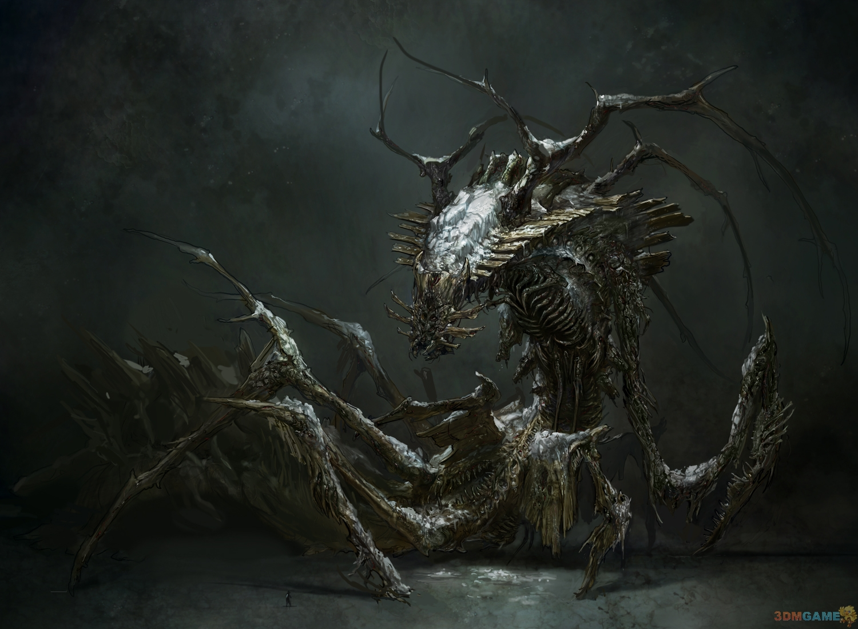 艾叔直捣虫巢 《死亡空间3》概念图惊现巨型异虫图片