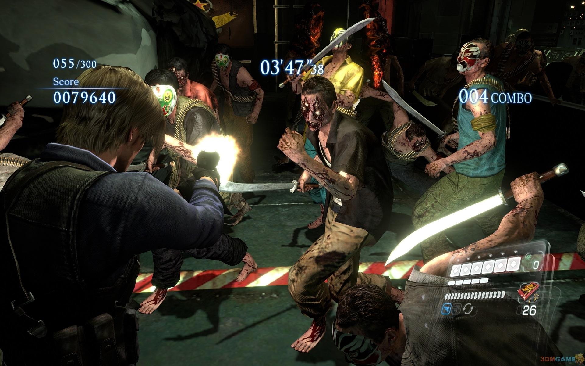 生化危机3游戏操作_PC版《生化危机6》独占模式确认 更多游戏截图公布_3DM单机