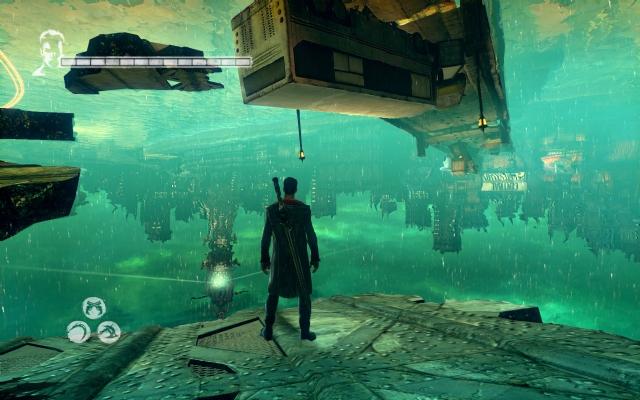 <b>PC玩家的自豪 《鬼泣5》主机与PC版效果图比对</b>