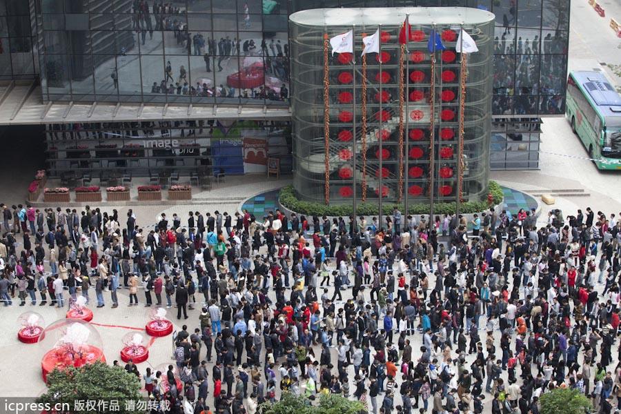 腾讯员工心花怒放!上班首日ceo马化腾亲自发红包图片