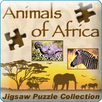 《非洲动物拼图(Animals of Africa)》绿色破解版