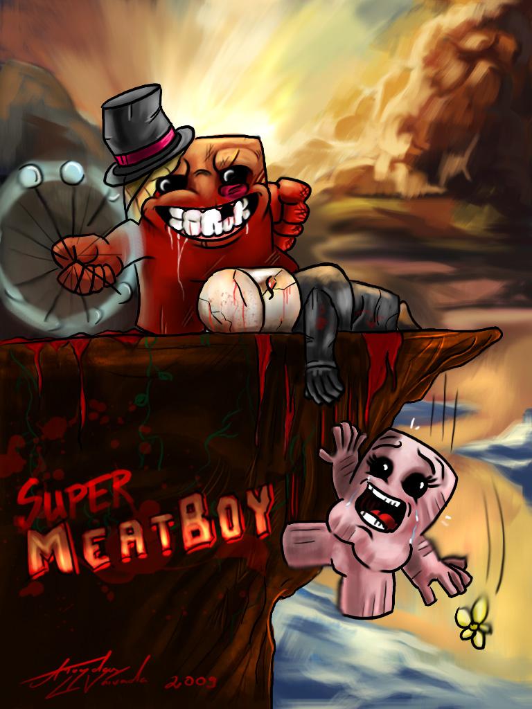 《超级食肉男孩》(Super Meat Boy)1.03完整硬盘版