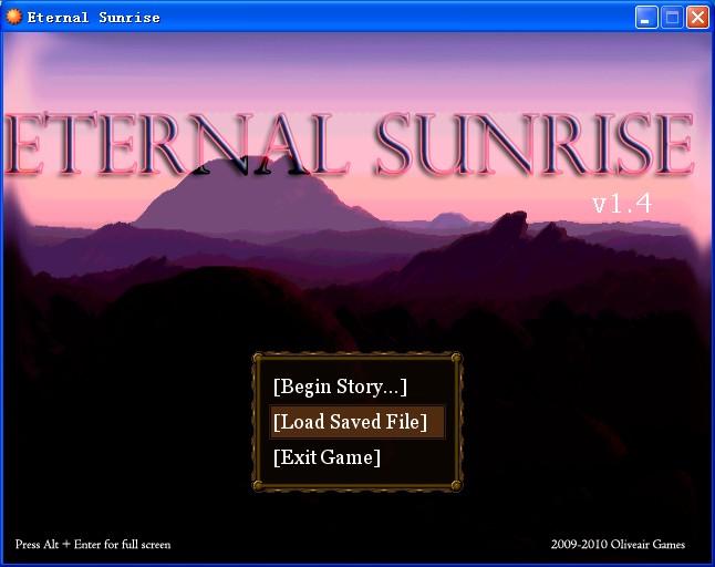 《永恒的晨曦》(Eternal Sunrise) 1.42绿色完全版