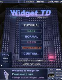 《微巨塔防》(WidgetTD)1.2绿色硬盘版带注册机