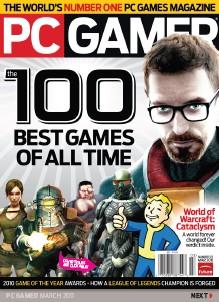 《PC GAMER》2011年3月版
