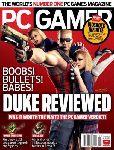 《PC GAMER》2011年8月版